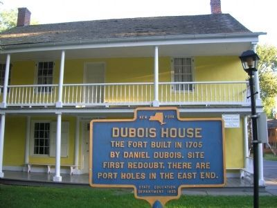The Dubois House in New Paltz, New York image. Click for full size.