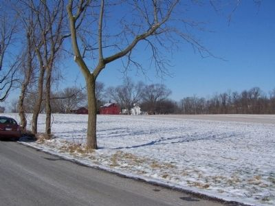 Old Farm near marker. image. Click for full size.