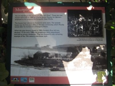 Murphy's Row Marker image. Click for full size.