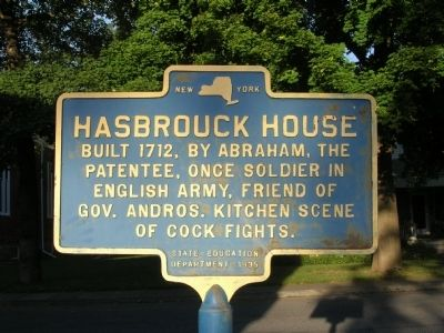 The Hasbrouck House in New Paltz, New York image. Click for full size.