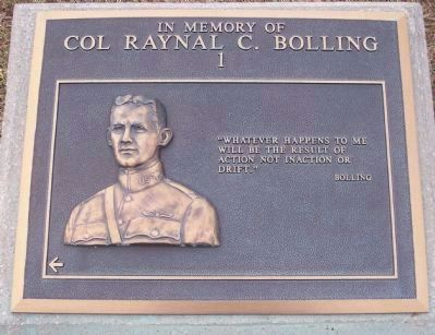 Colonel Bolling Marker, Panel No. 1 image. Click for full size.
