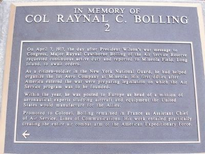 Colonel Bolling Marker, Panel No. 2 image. Click for full size.