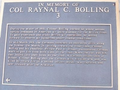 Colonel Bolling Marker, Panel No. 3 image. Click for full size.
