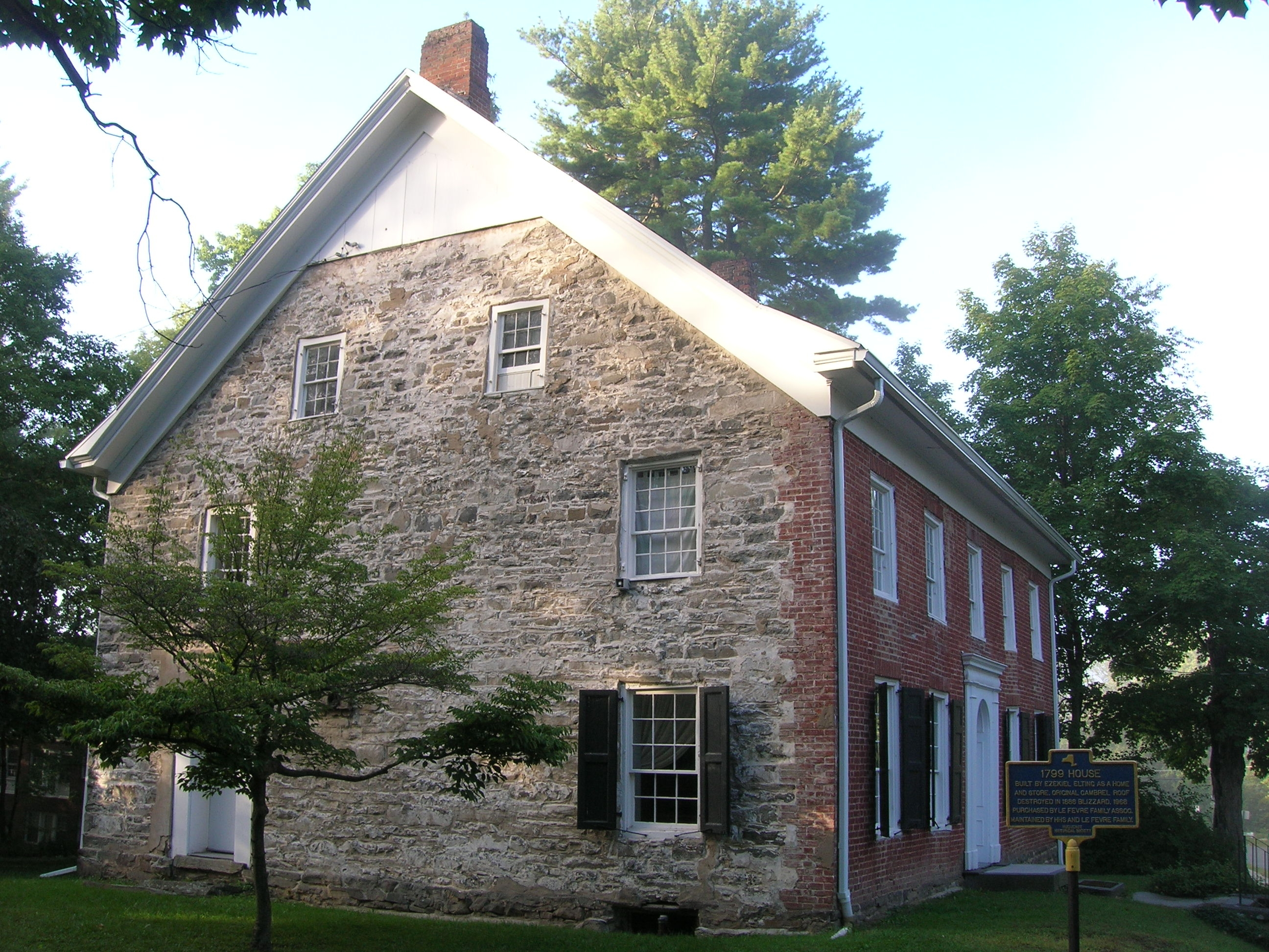 1799 House and Marker