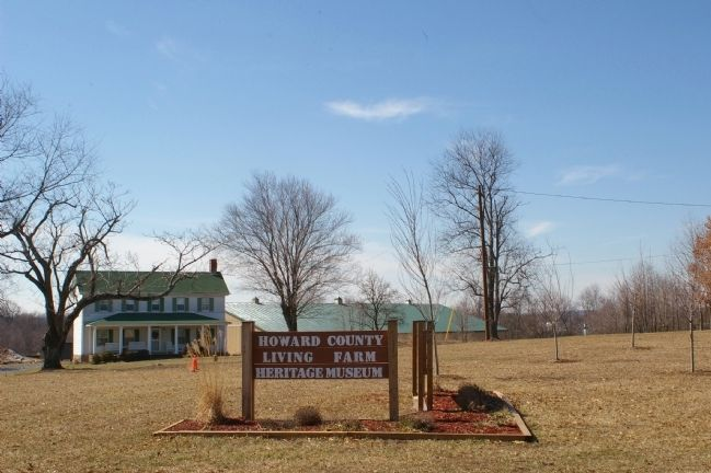 Howard County Living Farm Museum image. Click for full size.