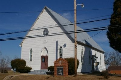 Mount Gregory United Methodist Church image. Click for full size.