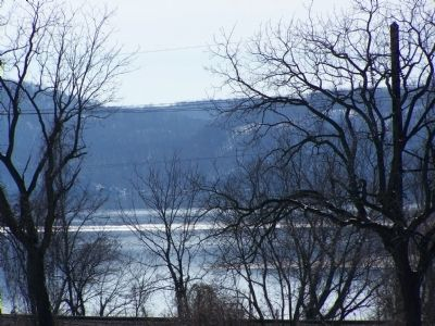 Susquehanna River as seen from the marker. image. Click for full size.