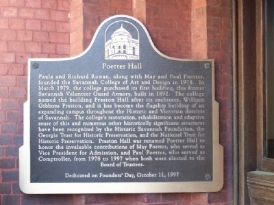 Poetter Hall Marker image. Click for full size.