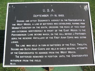U.S.A. Marker image. Click for full size.