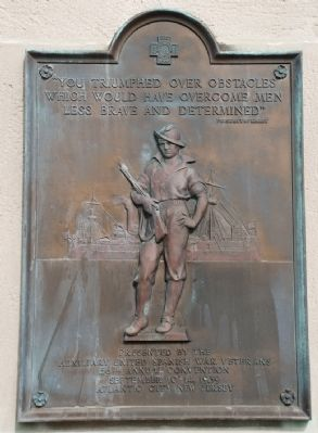 Spanish-American War Marker, Atlantic City image. Click for full size.