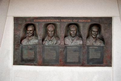 Korean War Congressional Medal of Honor Recipients image. Click for full size.
