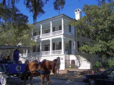 Maxcy Rhett House is on the Carriage tour image. Click for full size.