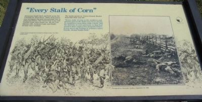 """Every Stalk of Corn"" Marker image. Click for full size."