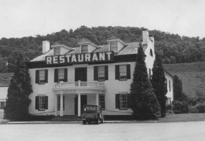 The Clarysville Inn, in the 1970s image. Click for full size.