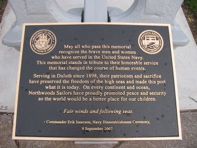 Northwoods Sailors Marker image. Click for full size.