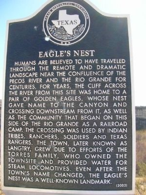 Eagle's Nest Marker image. Click for full size.