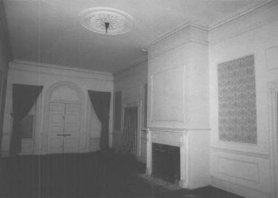 Perry Hall in 2002 (interior) image. Click for full size.