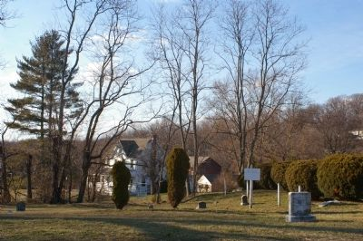 Mt. Gilboa African Methodist Episcopal Church cemetery image. Click for full size.