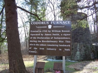 Codorus Furnace Marker image. Click for full size.