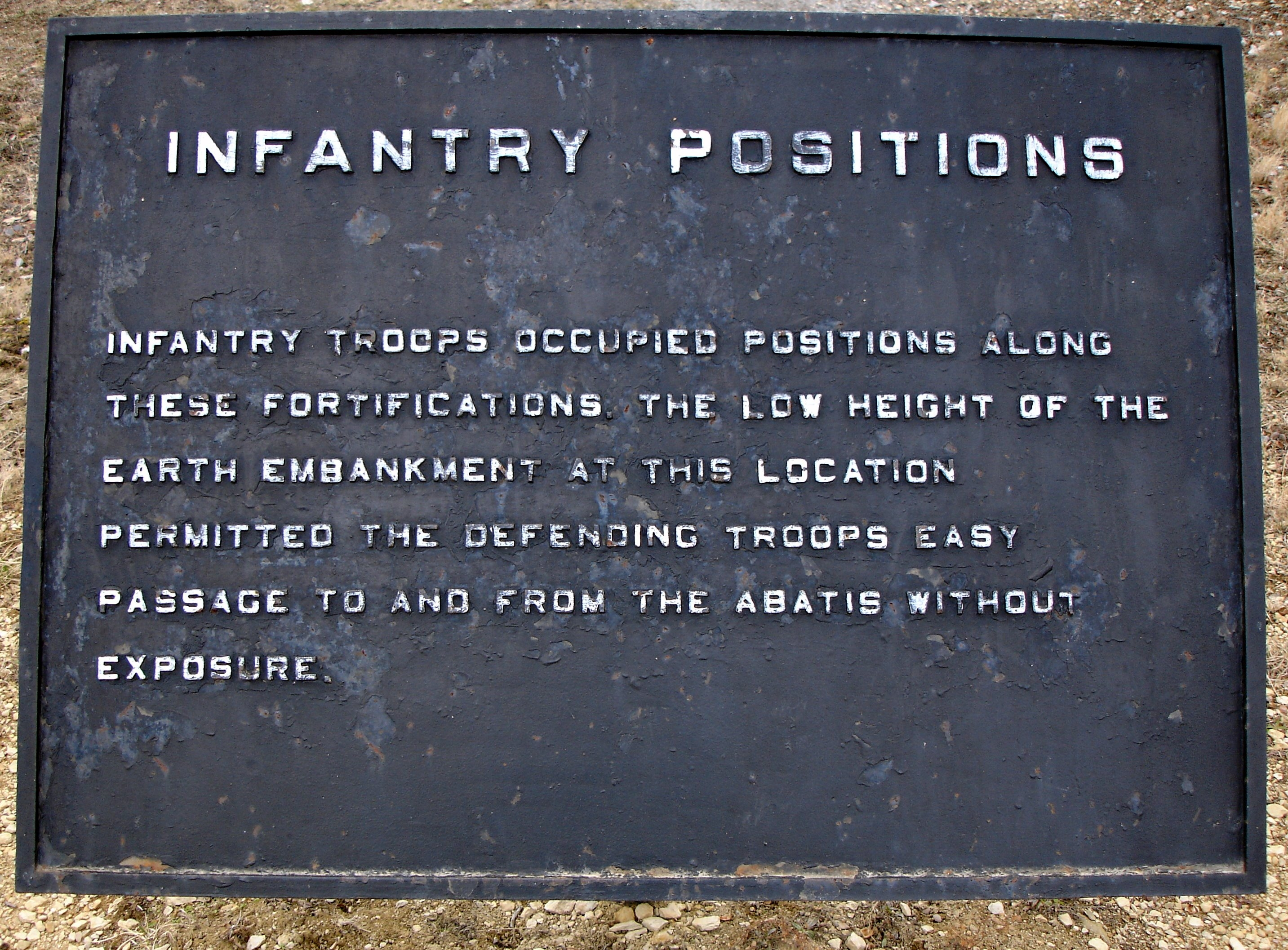 Infantry Positions Marker