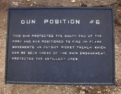 Gun Position #6 Marker image. Click for full size.
