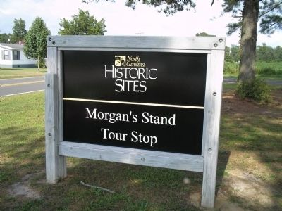 Morgan's Stand Tour Stop image. Click for full size.