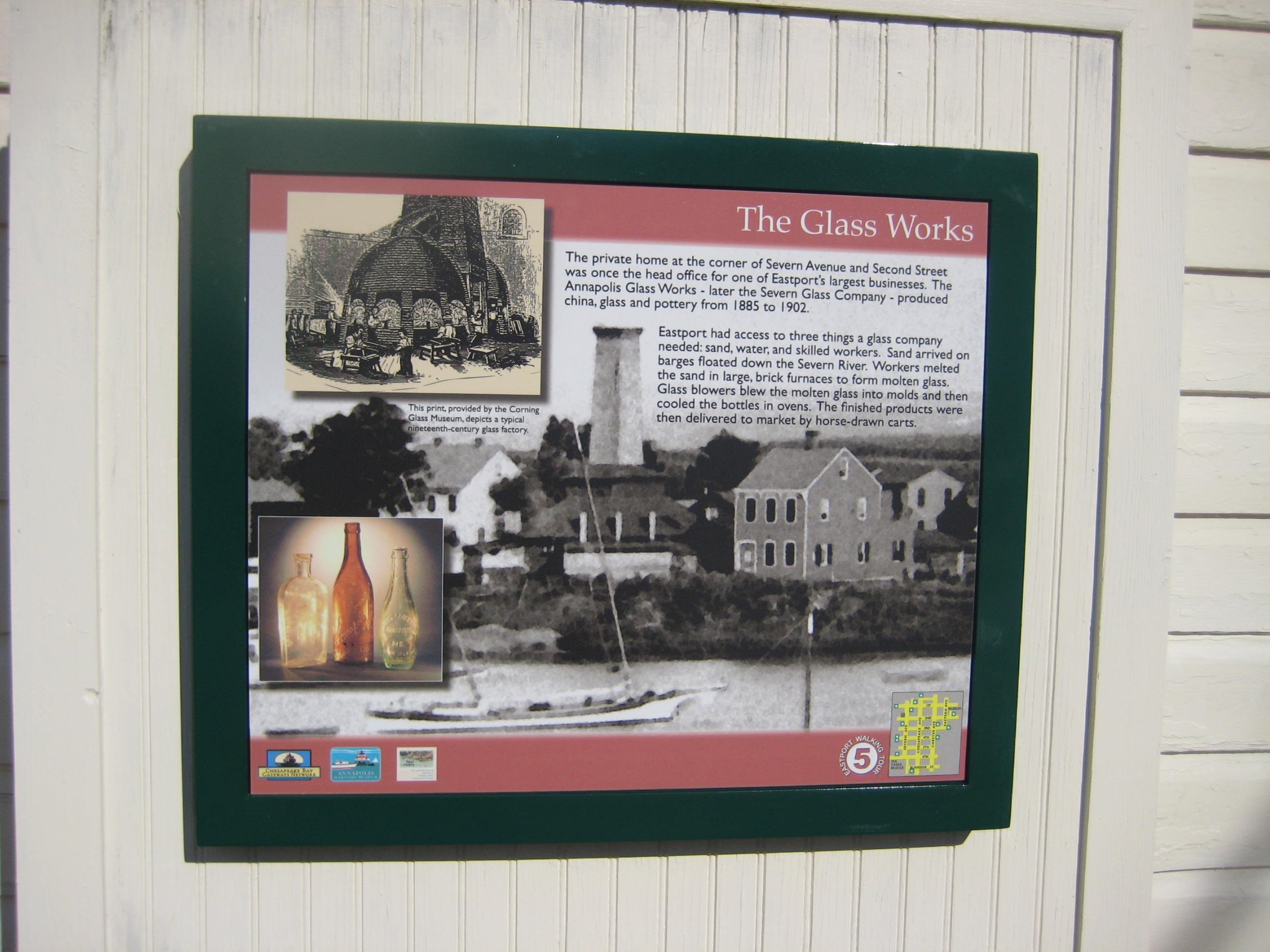 The Glass Works Marker