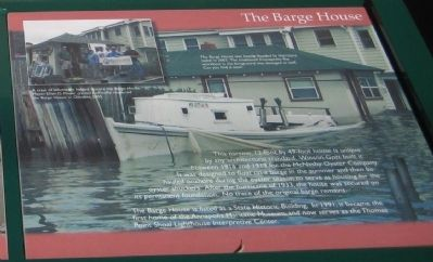 The Barge House image. Click for full size.