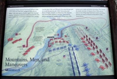Mountains, Men, and Maneuvers Marker image. Click for full size.