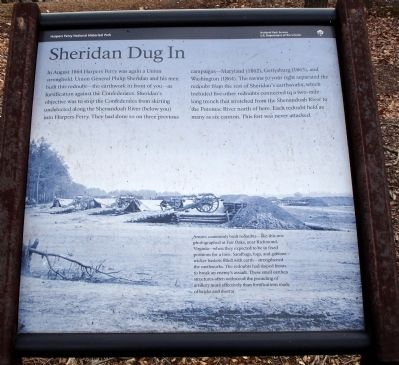Sheridan Dug In Marker image. Click for full size.