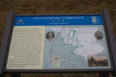 Gettysburg Campaign Marker image. Click for full size.