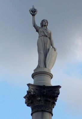 Victory Atop Monument image. Click for full size.
