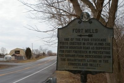 Fort Mills Marker image. Click for full size.