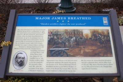 Major James Breathed Marker image. Click for full size.