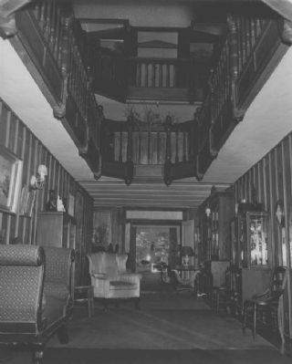 Clara Barton House (interior) image. Click for full size.