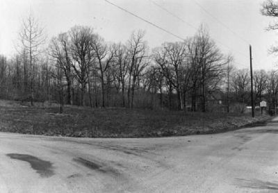 Marker and Hotel site, 1975 image. Click for full size.