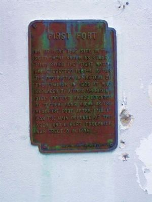 First Fort Marker image. Click for full size.
