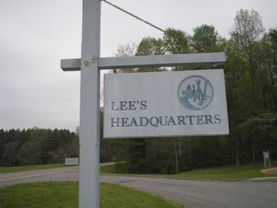 Site of Lee's Last Headquarters image. Click for full size.
