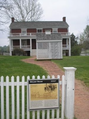 The House where Lee surrendered the Army of Northern Virginia image. Click for full size.
