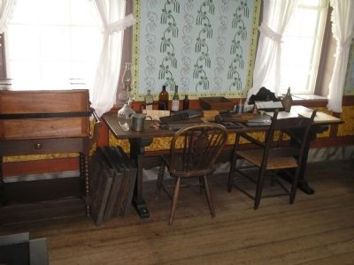 Inside the Clover Hill Tavern image. Click for full size.