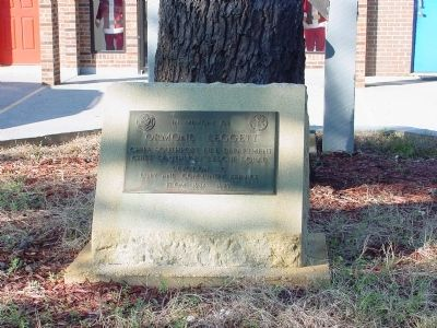Ormond Leggett Memorial image. Click for full size.