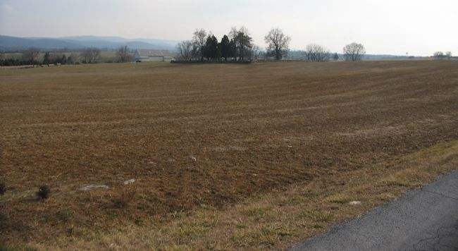 Stainrook's Brigade Advance toward the Hagerstown Pike image. Click for full size.