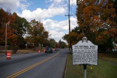 Eastbound view of marker image. Click for full size.