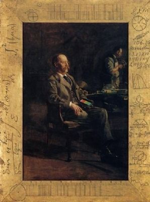Portrait of Henry A. Rowland by Thomas Eakins image. Click for full size.