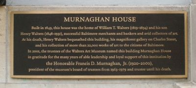 Murnaghan House Marker image. Click for full size.