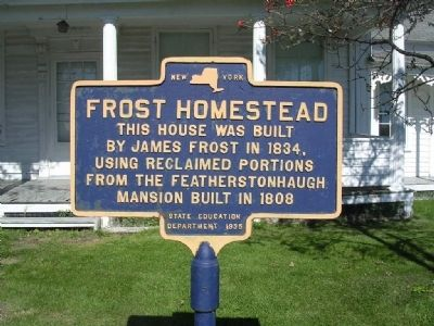 Frost Homestead in Mariaville Lake, Duanesburg, NY image. Click for full size.