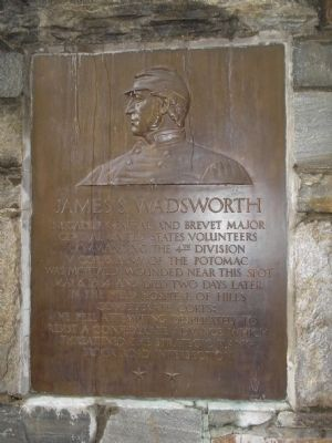 James S. Wadsworth Memorial image. Click for full size.