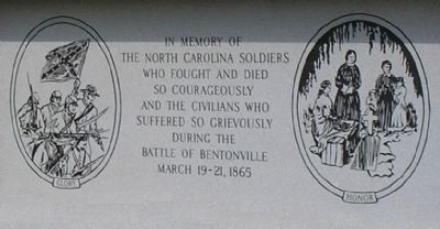 Detail of North Carolina Monument image. Click for full size.