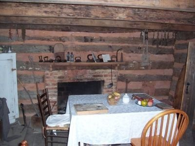 "Duckett Cabin ""family room"" image. Click for full size."
