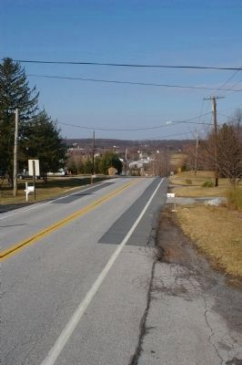View west from Poplar Springs marker image. Click for full size.